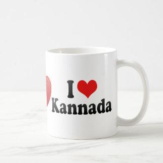 I Love Kannada Classic White Coffee Mug