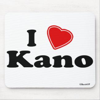 I Love Kano Mouse Pad