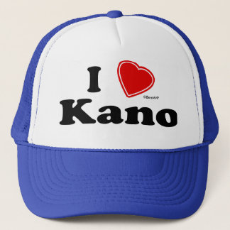 I Love Kano Trucker Hat