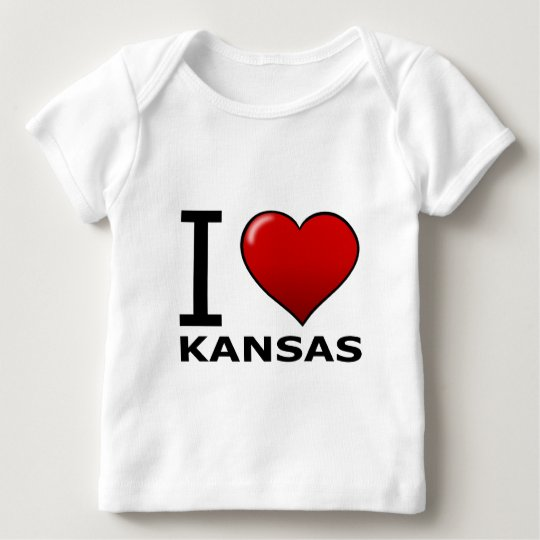 I LOVE KANSAS BABY T-Shirt