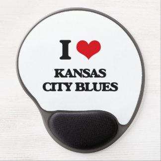 I Love KANSAS CITY BLUES Gel Mouse Pad