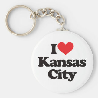 I Love Kansas City Keychain