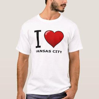 I LOVE KANSAS CITY,KS - KANSAS T-Shirt