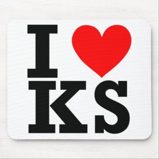 I love Kansas Design Mouse Pad