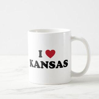 I Love Kansas Coffee Mug