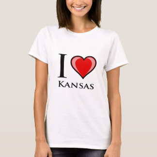 I Love Kansas T-Shirt