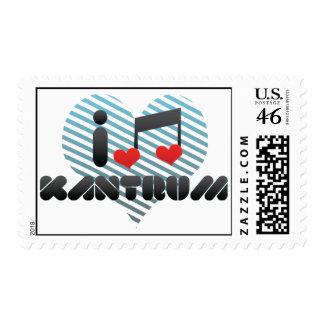 I Love Kantrum Stamps