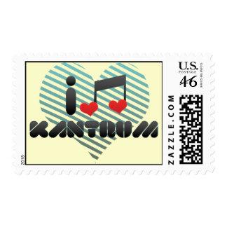 I Love Kantrum Stamp