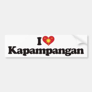 I Love Kapampangan Bumper Stickers