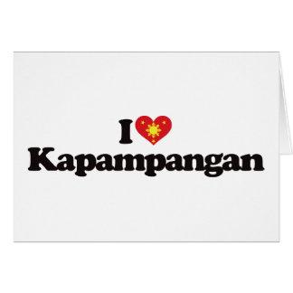 I Love Kapampangan Greeting Cards