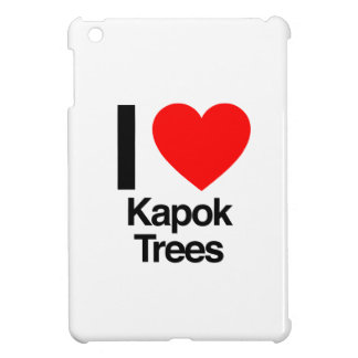i love kapok trees iPad mini covers