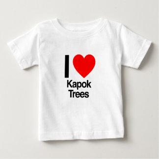 i love kapok trees infant t-shirt
