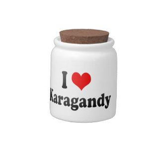 I Love Karagandy, Kazakhstan Candy Jars