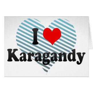 I Love Karagandy, Kazakhstan Stationery Note Card