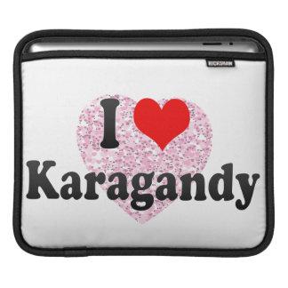 I Love Karagandy, Kazakhstan iPad Sleeves