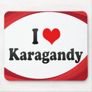 I Love Karagandy, Kazakhstan Mouse Pad