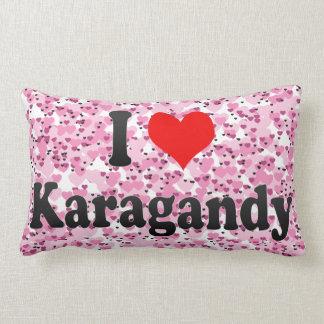 I Love Karagandy, Kazakhstan Throw Pillow