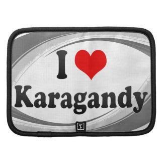 I Love Karagandy, Kazakhstan Folio Planner