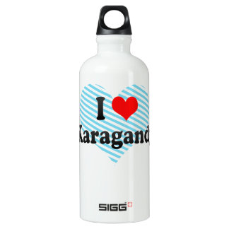 I Love Karagandy, Kazakhstan SIGG Traveler 0.6L Water Bottle