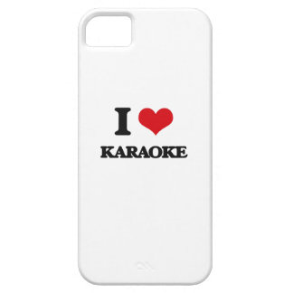 I Love Karaoke iPhone 5 Case