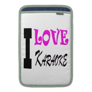 I Love Karaoke Sleeves For MacBook Air