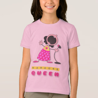 I Love Karaoke   Karaoke Queen T Shirt