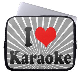 I love Karaoke Computer Sleeves