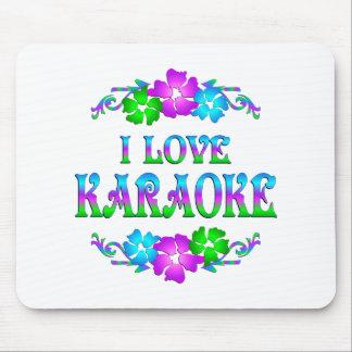 I LOVE KARAOKE MOUSE PAD