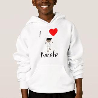 I Love Karate (2) Hoodie