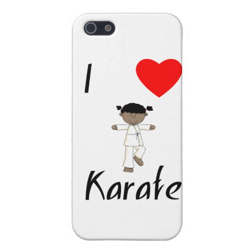 I Love Karate (2) Cover For iPhone 5