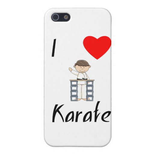 I Love Karate (3) iPhone 5 Cover