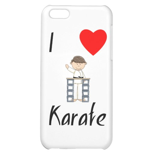 I Love Karate (3) iPhone 5C Cases