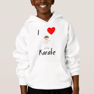 I Love Karate (4) Hoodie