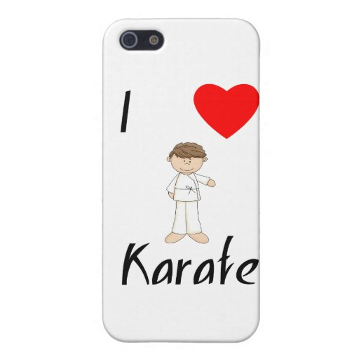 I Love Karate (4) Covers For iPhone 5