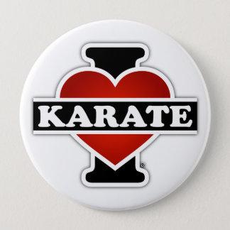 I Love Karate Button