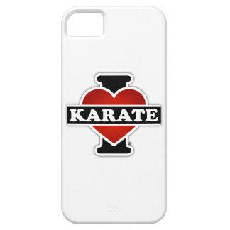 I Love Karate iPhone 5 Cover