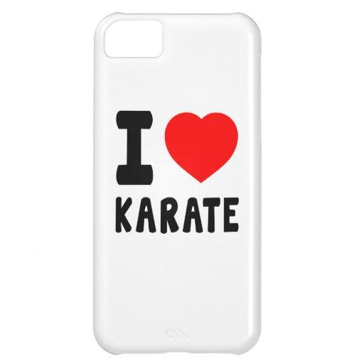 I Love Karate iPhone 5C Case
