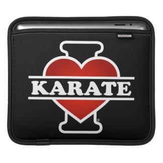 I Love Karate iPad Sleeve
