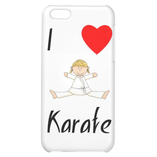 I Love Karate iPhone 5C Cases