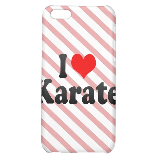 I love Karate Case For iPhone 5C