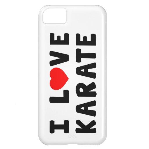 I Love Karate Martial Arts iPhone 5C Cases