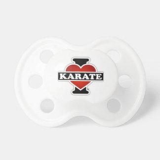 I Love Karate BooginHead Pacifier