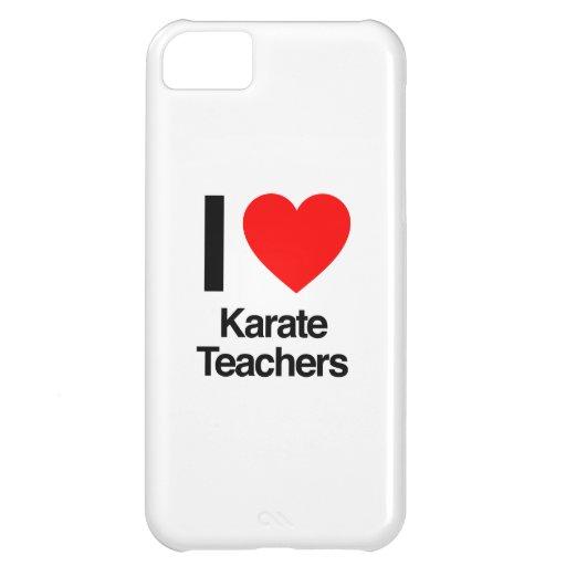 i love karate teachers iPhone 5C case