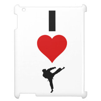 I Love Karate (Vertical) Cover For The iPad 2 3 4