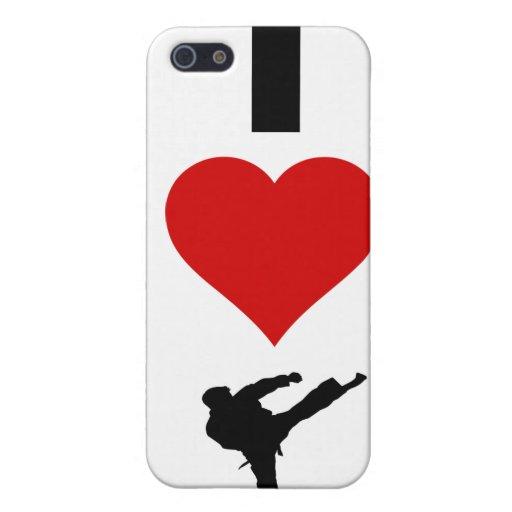 I Love Karate (Vertical) iPhone 5 Case