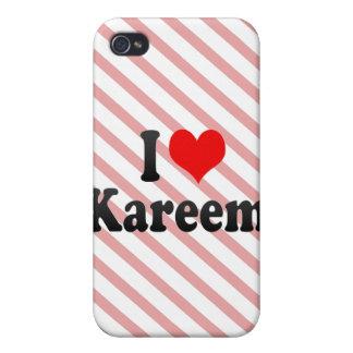I love Kareem iPhone 4/4S Cover
