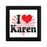 I love Karen Keepsake Boxes