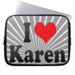 I love Karen Laptop Sleeve