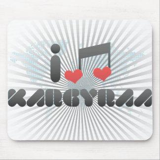 I Love Kargyraa Mouse Pads