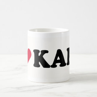 I LOVE KARL COFFEE MUG